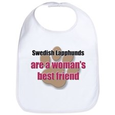 Swedish Lapphunds woman's best friend Bib