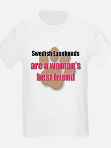 Swedish Lapphunds woman's best friend T-Shirt