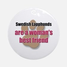 Swedish Lapphunds woman's best friend Ornament (Ro