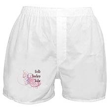 Field Hockey Babe Boxer Shorts