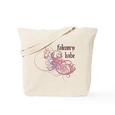 Falconry Babe Tote Bag