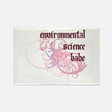 Environmental Science Babe Rectangle Magnet