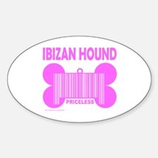 IBIZAN HOUND PRICELESS Oval Decal