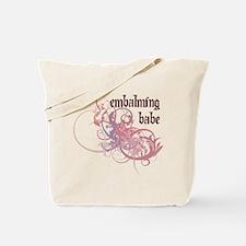 Embalming Babe Tote Bag