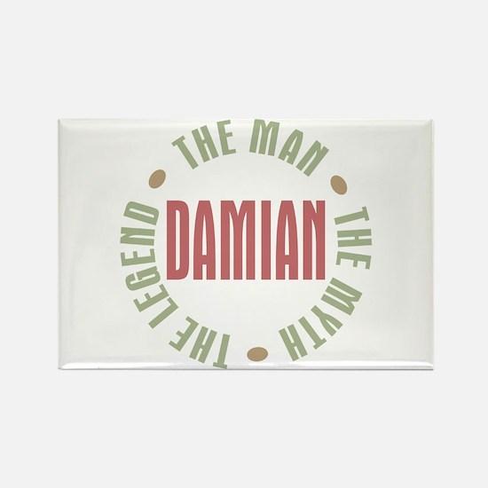 Damian Man Myth Legend Rectangle Magnet