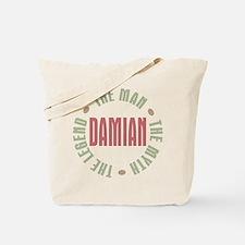 Damian Man Myth Legend Tote Bag