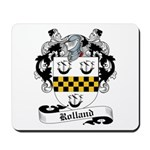 Rolland Family Crest Mousepad