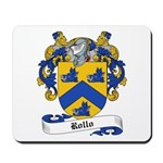 Rollo Family Crest Mousepad