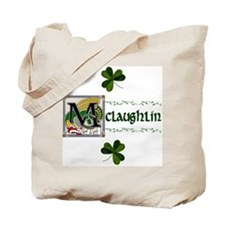 McLaughlin Celtic Dragon Tote Bag