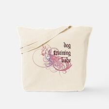 Dog Training Babe Tote Bag