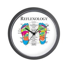 Custom Foot Reflexology Logo Wall Clock