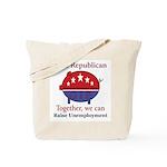Unemployment Pig Tote Bag