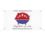 Unemployment Pig Banner