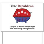 Know It All Pig Yard Sign