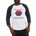 Know It All Pig Baseball Jersey