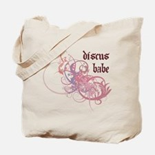 Discus Babe Tote Bag