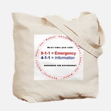 911 Tote Bag