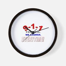 911 dispatcher Wall Clock