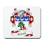 Ronald Family Crest Mousepad