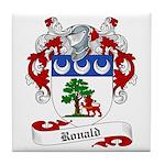 Ronald Family Crest Tile Coaster
