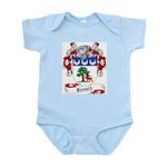 Ronald Family Crest Infant Creeper