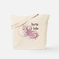 Darts Babe Tote Bag