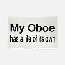 Oboe Rectangle Magnet