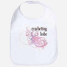 Crocheting Babe Bib