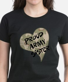 crpd-proud_army_sister_crpd T-Shirt