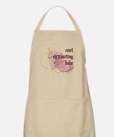 Cost Estimating Babe BBQ Apron