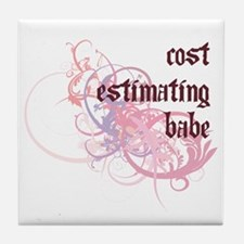 Cost Estimating Babe Tile Coaster