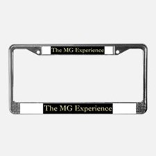 Funny Mg midget 50th anniversary License Plate Frame