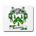Rowentree Family Crest Mousepad