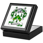 Rowentree Family Crest Keepsake Box