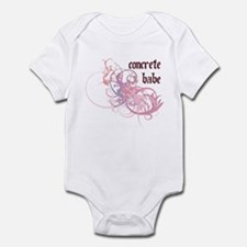 Concrete Babe Infant Bodysuit