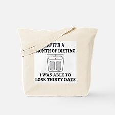 WEIGHT LOSE Tote Bag