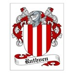 Ruthven Family Crest Small Poster