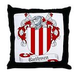 Ruthven Family Crest Throw Pillow