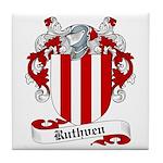 Ruthven Family Crest Tile Coaster