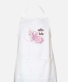 Coffee Babe BBQ Apron