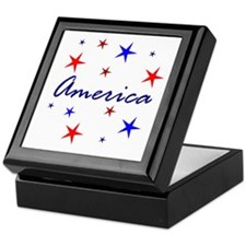 Patriotic America Keepsake Box