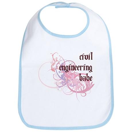 Civil Engineering Babe Bib