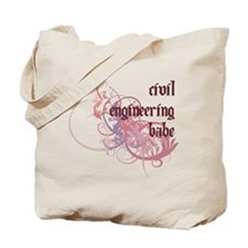 Civil Engineering Babe Tote Bag