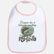 Believe in Fishing Bib