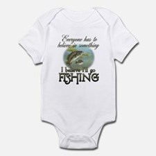 Believe in Fishing Infant Bodysuit