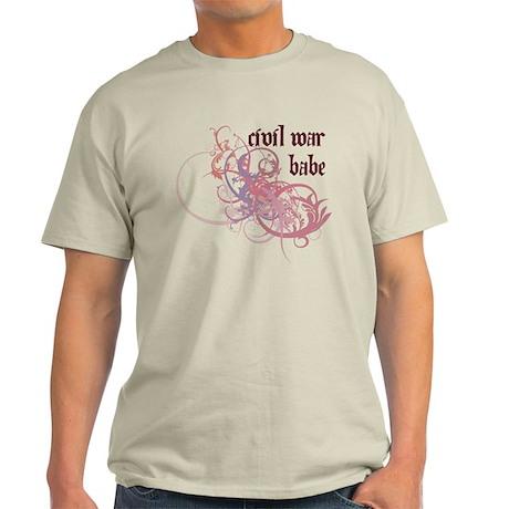 Civil War Babe Light T-Shirt