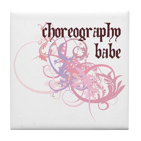 Choreography Babe Tile Coaster