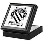 Sanderson Family Crest Keepsake Box