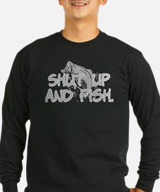 Shut up and fish. T