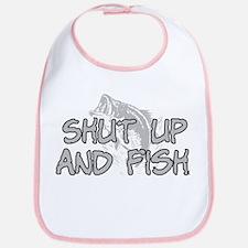 Shut up and fish. Bib